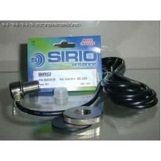 Sirio  4m Cable_SO 23g,  врезное крепление