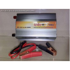 DC to AC POWER  INVERTER 12/220В  1000Вт+ USB 5В