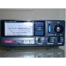 ROGER  RSM 200  1,8 – 160 МГц, 200 – 400Вт